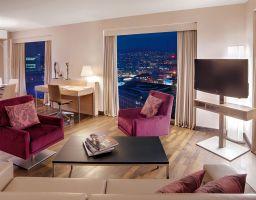 Hotelfotograf Zürich Schweiz | Hotelfotografie Renaissance Tower Hotel
